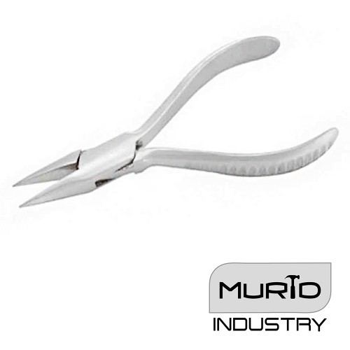Optician Pliers Chain Nose Groove Handle 140mm