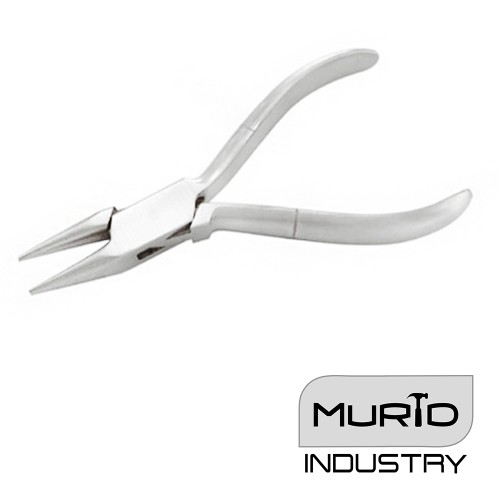 Optician Pliers Round Plain Handle