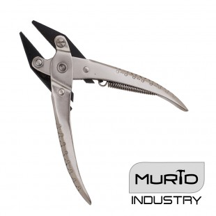 Parallel Flat Nose Pliers 140mm Serrated Jaw