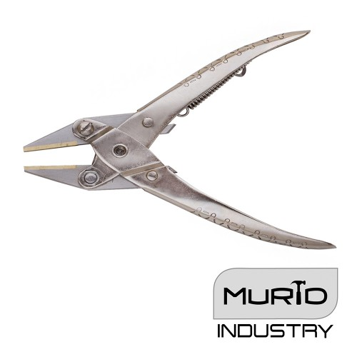 Parallel Flat Nose Pliers 140mm Brass Jaw