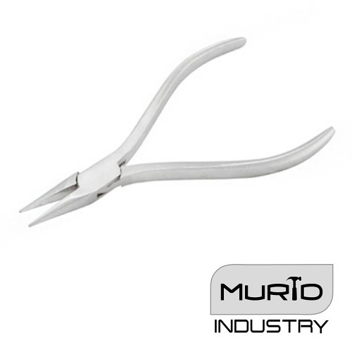 Watchmaking Chain Nose Pliers Plain Handle 115mm
